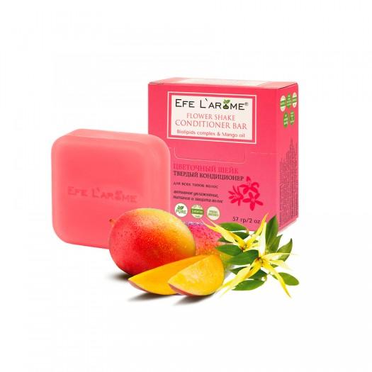 Твёрдый кондиционер Цветочный шейк активное увлажнение, питание и защита всех типов волос